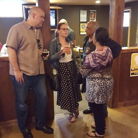 Guests At Pints For Sight