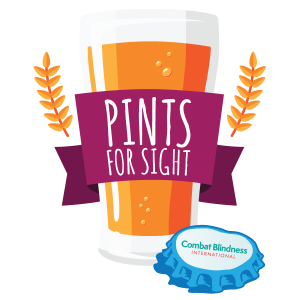 Pints for Sight logo