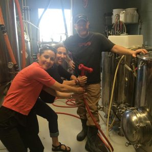 Melissa And Vanja At Next Door Brewery