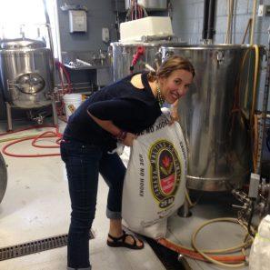 Melissa At Next Door Brewery