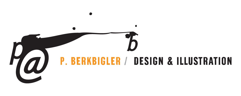 P Berkbigler Design & Illustration Logo