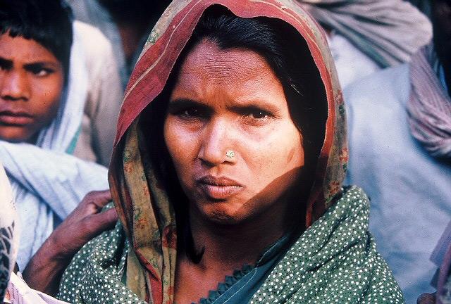Woman In Sitapur, India