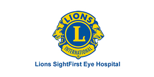 Lions SightFirst Eye Hospital logo