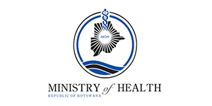 Republic Of Botswana Ministry Of Health Logo