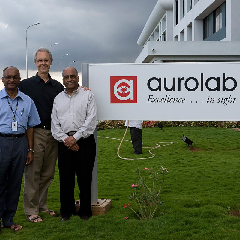 CBI Board Members at Aurolab