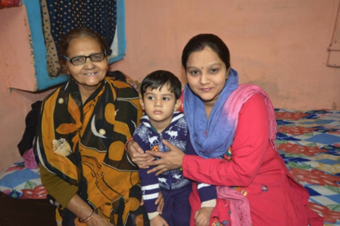 Rani And Her Family