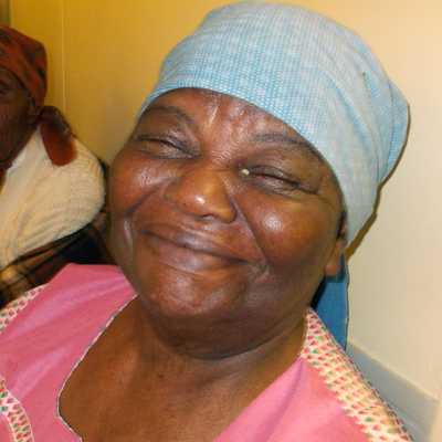 Combat Blindness Patient from India smiling