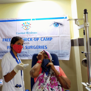 Combat Blindness International is proud to partner with the Jayapriya Medical Foundation to bring vision to those in need.