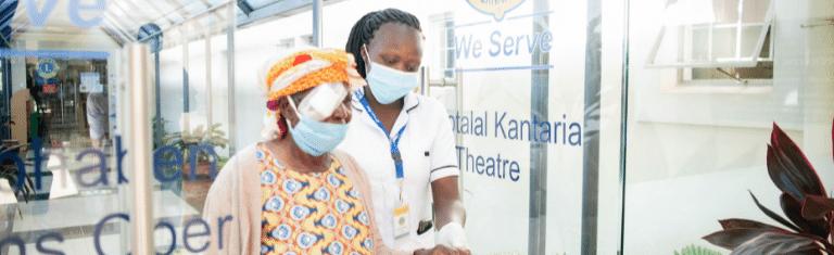 Combat Blindness International has renewed its support for Lions SightFirst Eye Hospital in Nairobi, Kenya.