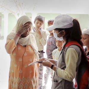 A Shakti screener in action