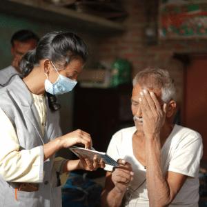 Shakti women screeners help those in need.